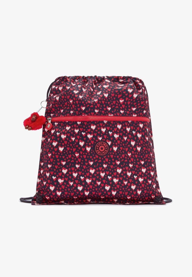Kipling - SUPERTABOO - Drawstring sports bag - heart festival