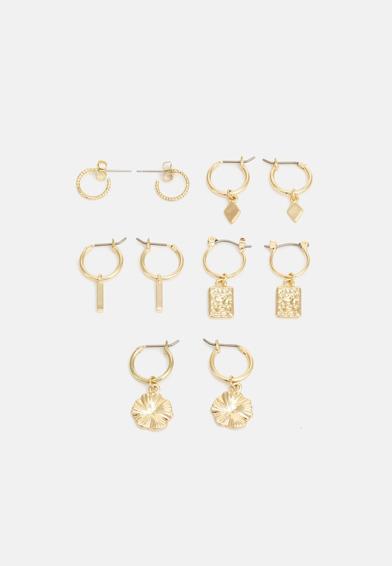Fire & Glory - EARRINGS 5 PACK - Øredobber - gold-coloured