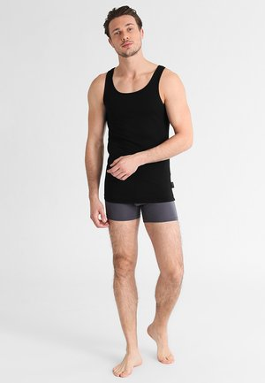 24/7 2 PACK - Undershirt - black