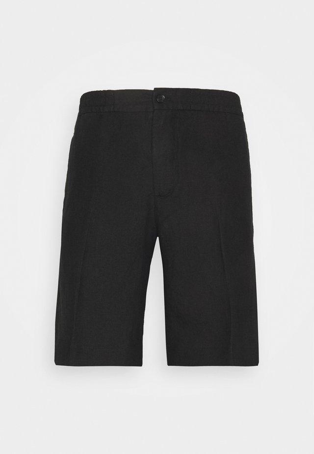 SASHA DRAPE  - Shorts - black