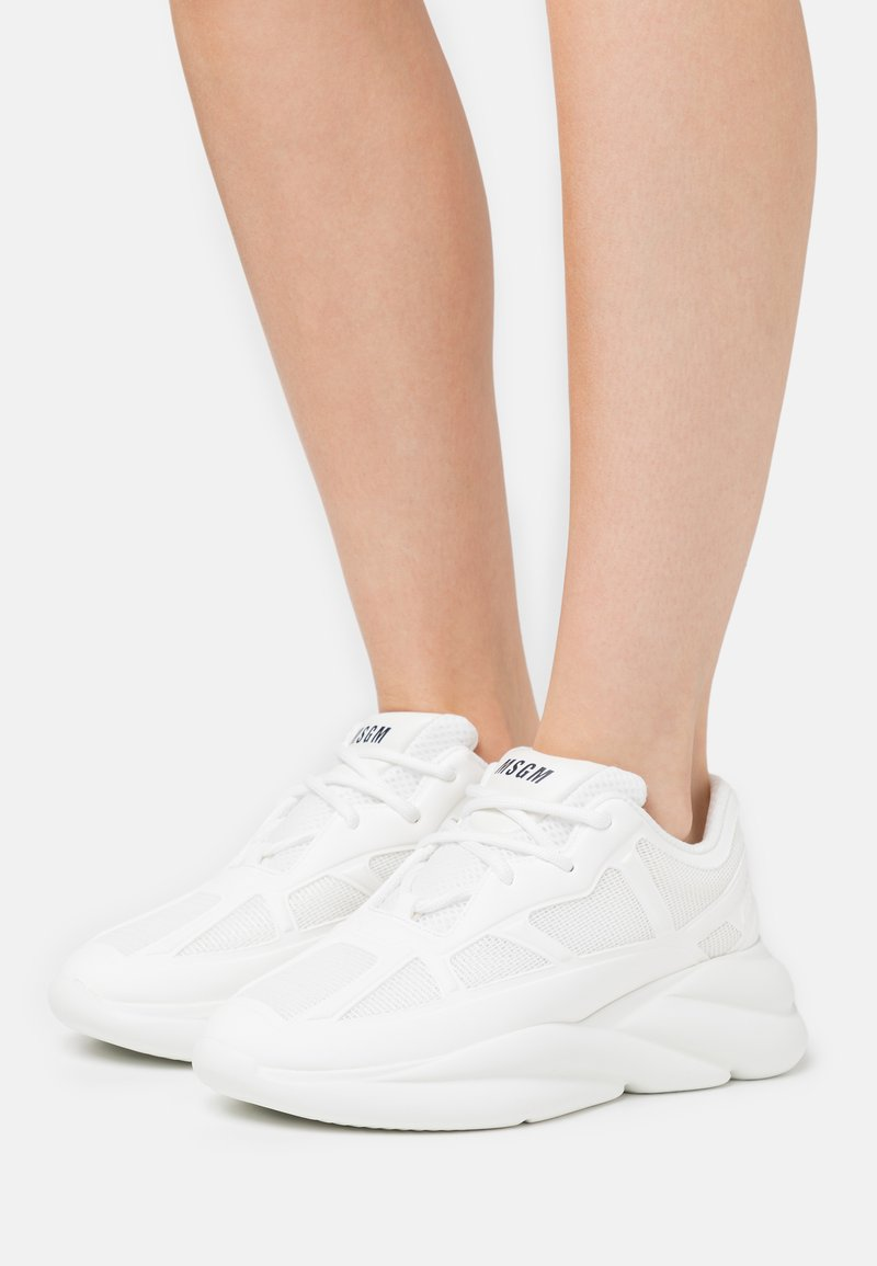 MSGM - SCARPA DONNA WOMAN'S SHOES - Trainers - white