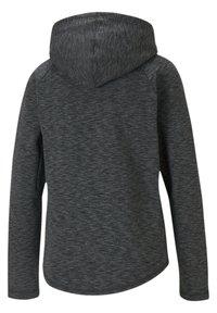 Puma - Zip-up hoodie - black-heather - 4