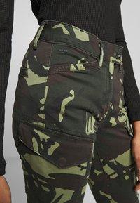 G-Star - BLOSSITE G-SHAPE ARMY HIGH SKINNY - Reisitaskuhousut - khaki - 3