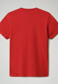 Napapijri - SALLAR - Print T-shirt - old red - 4