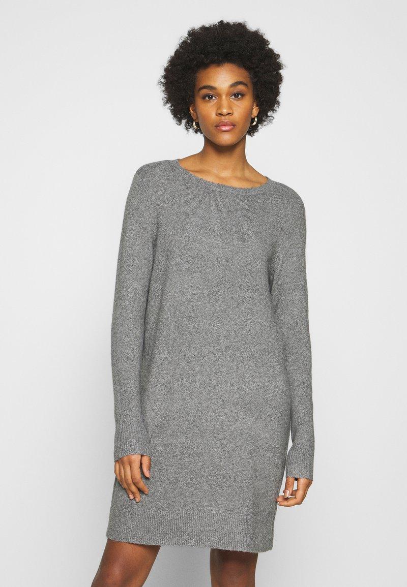 ONLY - ONLELENA DRESS - Jumper dress - medium grey melange