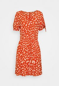 Madewell - COVERED BUTTON RETRO MINI - Day dress - thai chili - 0