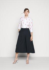 J.CREW - PERFECT KNOTS - Button-down blouse - white - 1