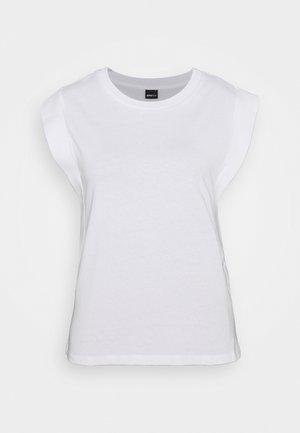 CHARLIE TANK - Basic T-shirt - white