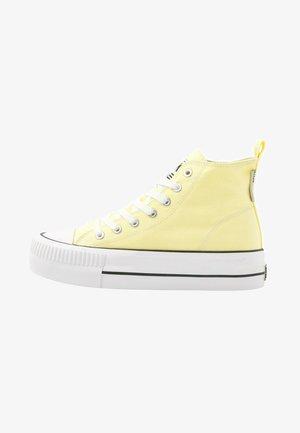 KAYA  - Baskets montantes - yellow
