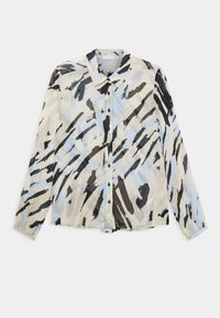 FLORIZZA - Button-down blouse - pastel strokes
