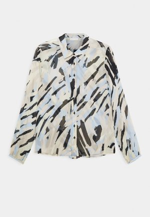 FLORIZZA - Button-down blouse - pastel strokes