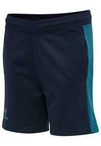 Hummel - ACTION - Sports shorts - dark sapphire/blue coral - 1