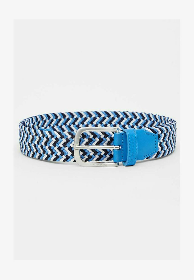 Ceinture tressée - ocean blue