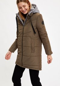 DeFacto - Winter coat - khaki - 4