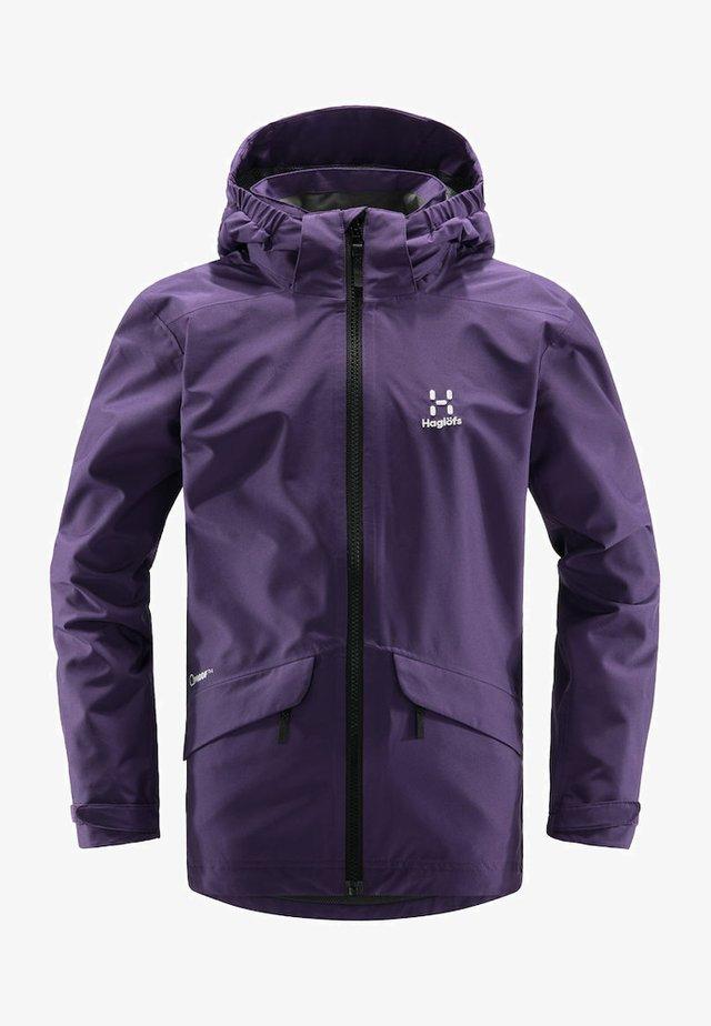 MILA - Hardshell jacket - purple rain