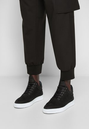 LOW TOP RIPPLE UNISEX - Trainers - black/white