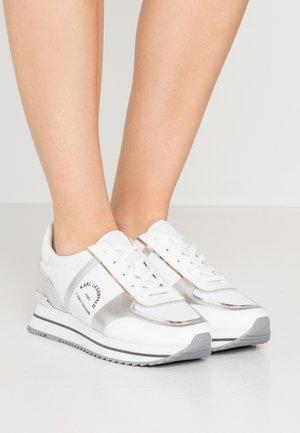 VELOCITA MAISON LACE - Sneakers - silver