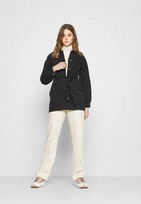 JDY - JDYSANSA BELTED JACKET  - Short coat - black - 1