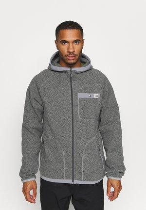 GORDON LYONS HOODIE - Fleece jacket - medium grey heather