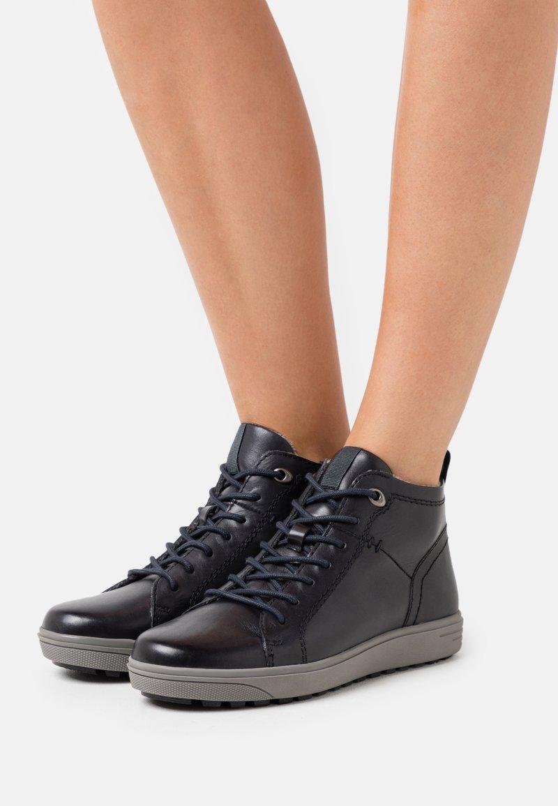 Jana - Sneakers alte - navy