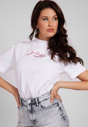 FRONTPRINT - Print T-shirt - weiß