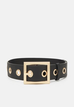 PCFIFFA WAIST BELT - Pásek - black/gold-coloured