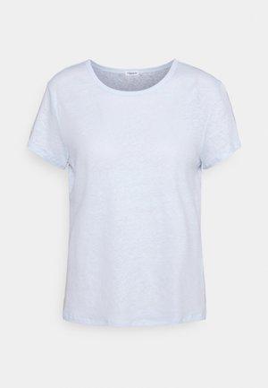 HAZEL TEE - Jednoduché triko - washed blue