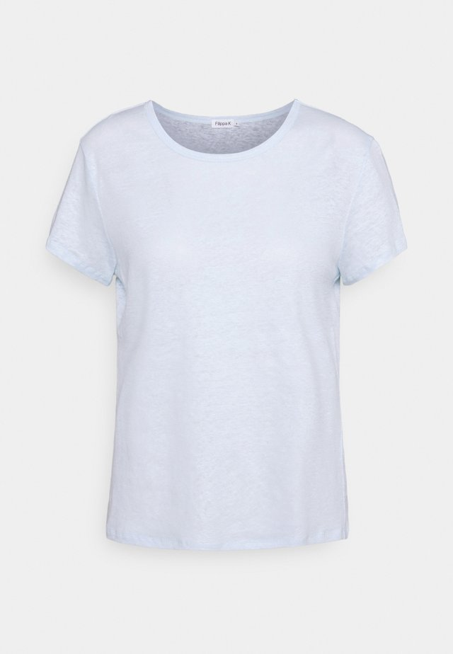 HAZEL TEE - T-shirts - washed blue