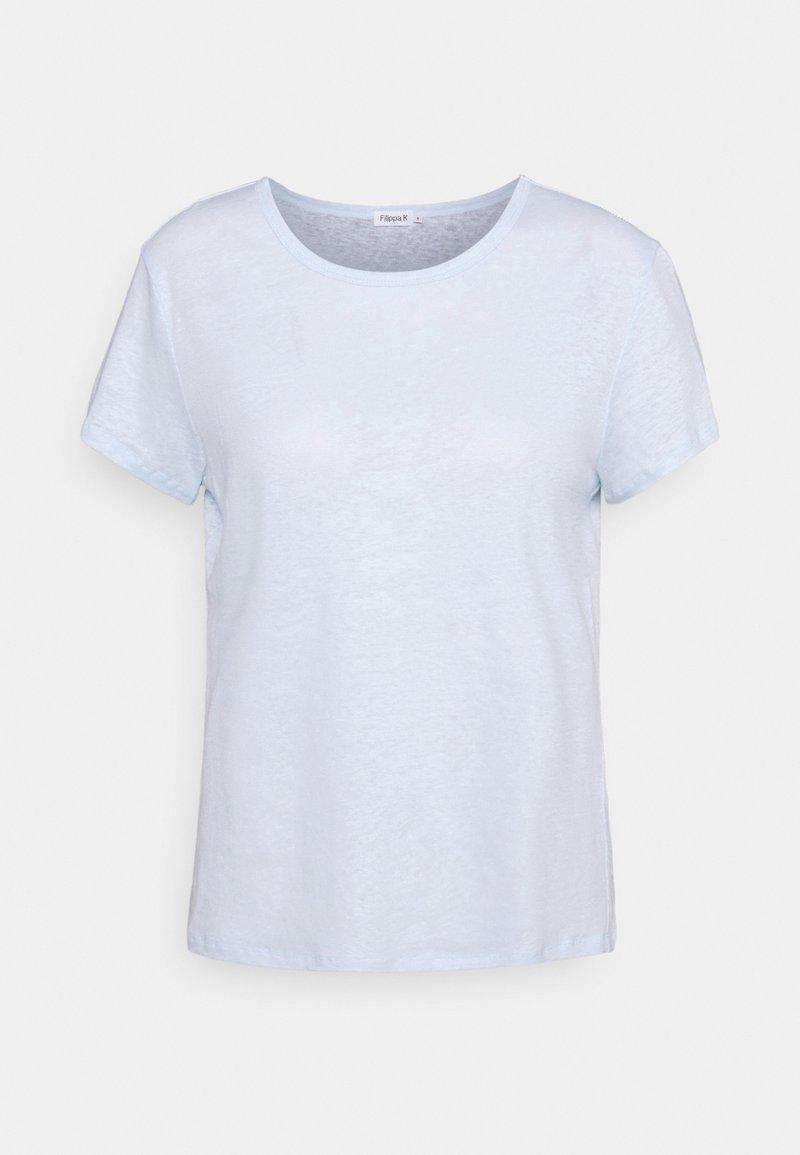 Filippa K - HAZEL TEE - Jednoduché triko - washed blue