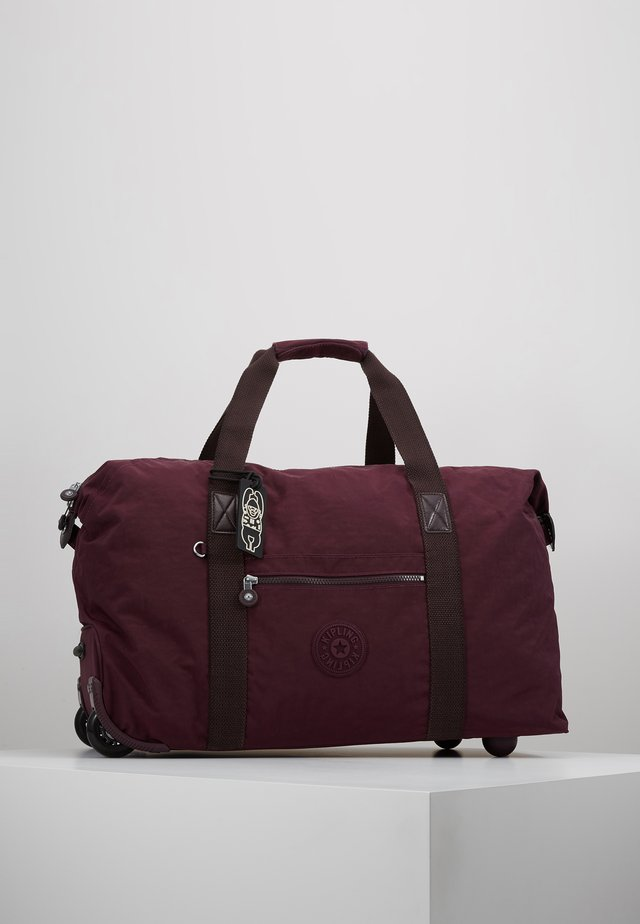 ART ON WHEELS M - Sac de voyage - dark plum