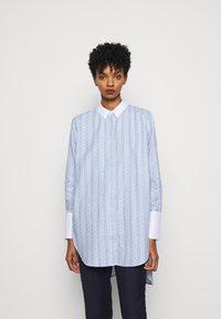 By Malene Birger - EAUBONNE - Button-down blouse - chambray blue - 0