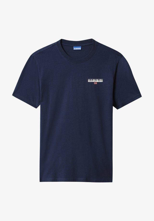 Camiseta estampada - medieval blue