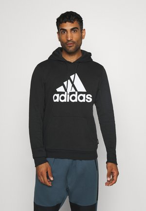 ESSENTIALS SPORTS INSPIRED HOODED - Mikina s kapucí - black