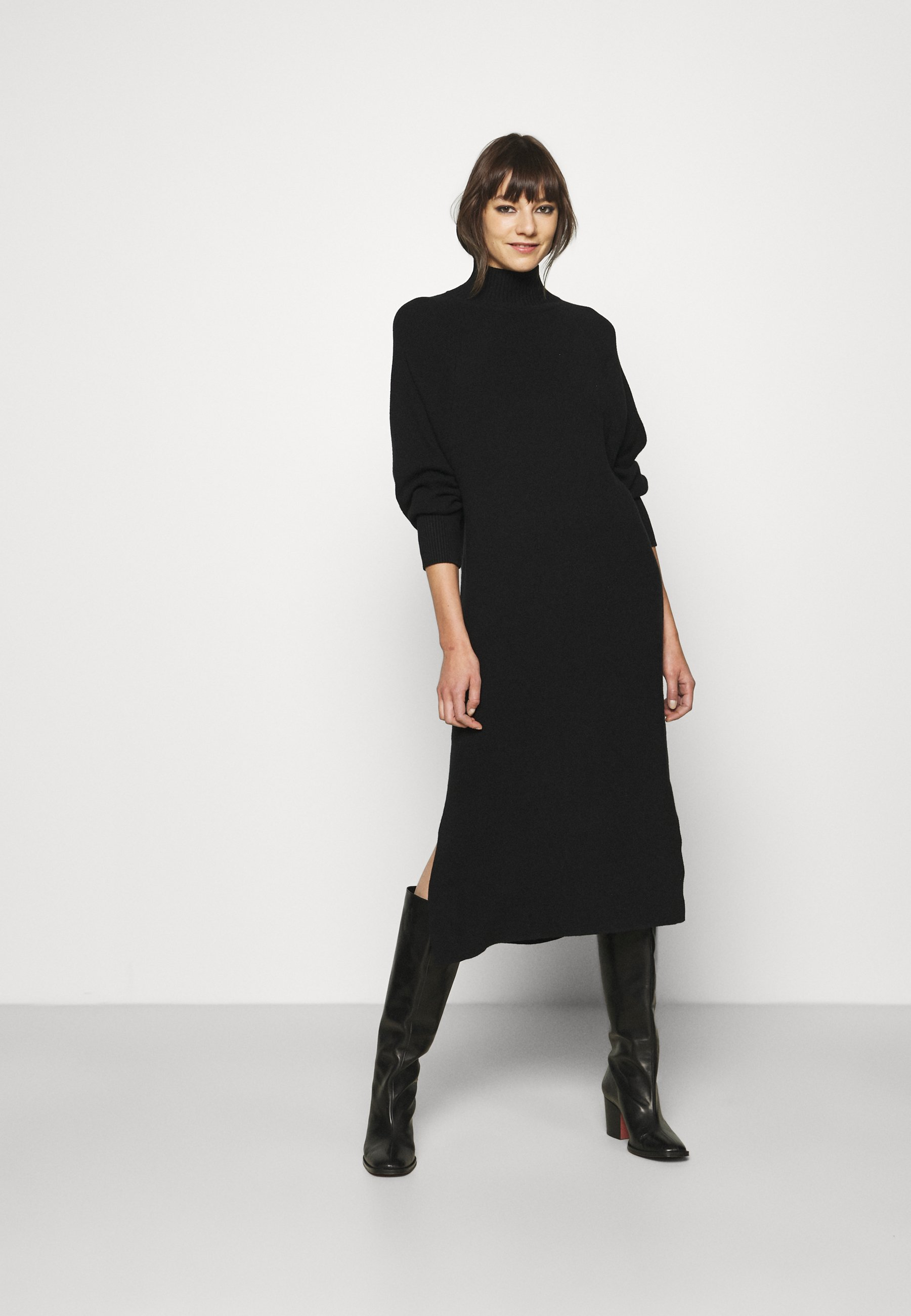 Femme BATWING - Robe pull