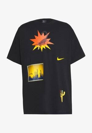 NIKE EXPLORATION SERIES BASKETBALL-T-SHIRT FÜR HERREN - T-shirt z nadrukiem - black