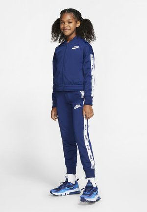 SPORTSWEAR TRAININGSANZUG KINDER - Tracksuit - blue void/white/blue void/white