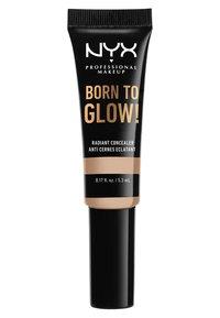 Nyx Professional Makeup - BORN TO GLOW RADIANT CONCEALER - Concealer - 02 alabaster - 1