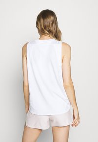 Under Armour - PRIDE FASHION GRAPHIC TANK - Treningsskjorter - white - 2