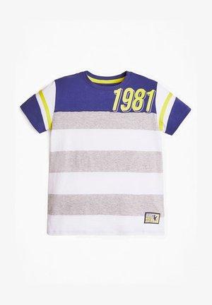 Camiseta estampada - mehrfarbig grau