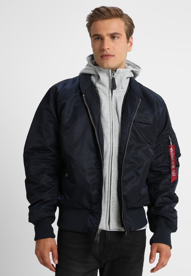 Bomber Jacket - rep blue