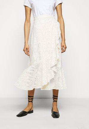 FRANCINE THINKTWICE - A-line skirt - jet stream
