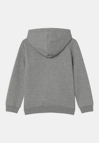 Puma - BIG LOGO HOODIE UNISEX - Sweater - medium gray heather - 1