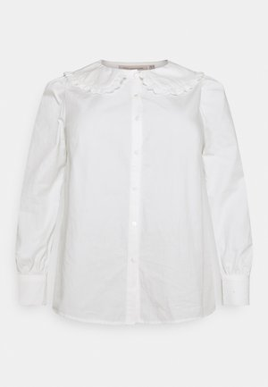 CARPANDANO COLLAR SHIRT - Overhemdblouse - cloud dancer