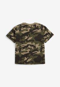 Next - Print T-shirt - khaki - 1