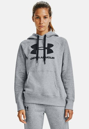Hoodie - steel medium heather