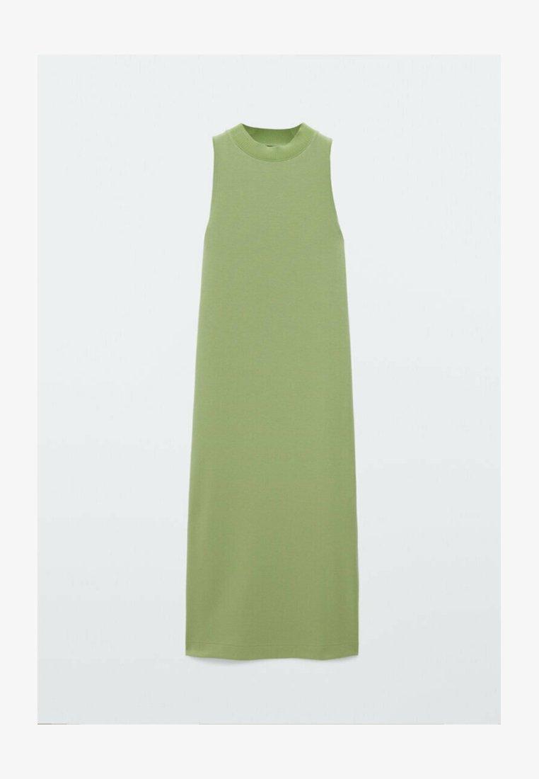 Massimo Dutti - Jersey dress - green