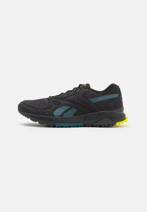 LAVANTE TERRAIN - Trail running shoes - core black/midnight pine/cold grey 7