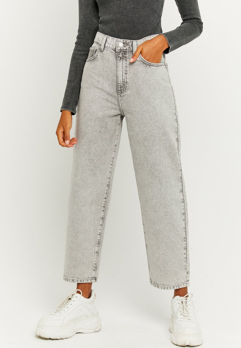 TALLY WEiJL - Straight leg jeans - grey denim
