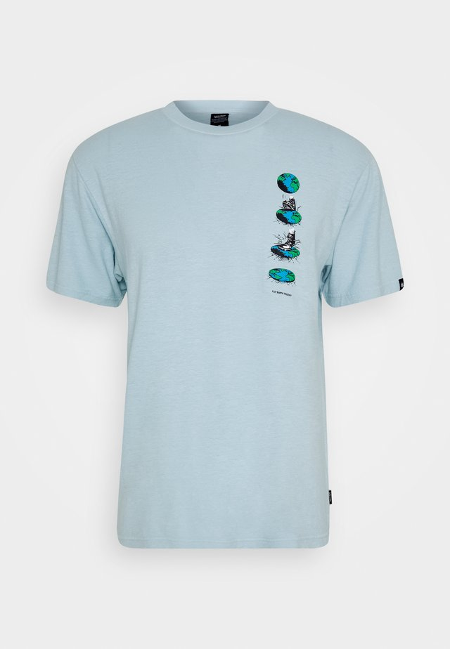 FLAT EARTH RETRO FIT TEE - T-shirt con stampa - wash