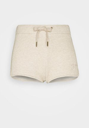 SHORT PANT - Nattøj bukser - light brown melange